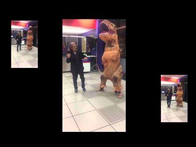 Spencer Hypnotizes a Dinosaur