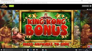 King Kong Cash - Nice run of Bonuses