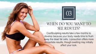 3 Questions to Decide between Liposuction and CoolSculpting®