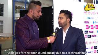 BizAsia meets Sharry Mann at the Punjabi Film Awards 2018
