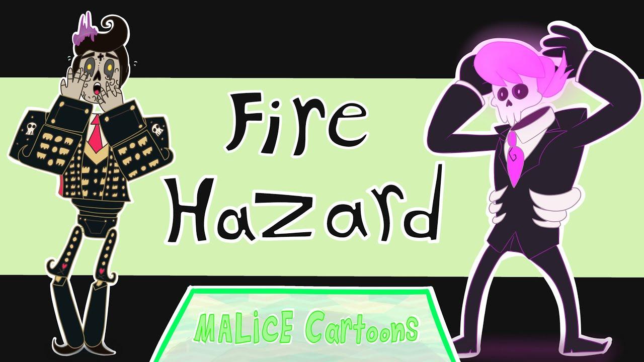 FIRE HAZARD [Mystery skulls/Book of life crossover animation ...