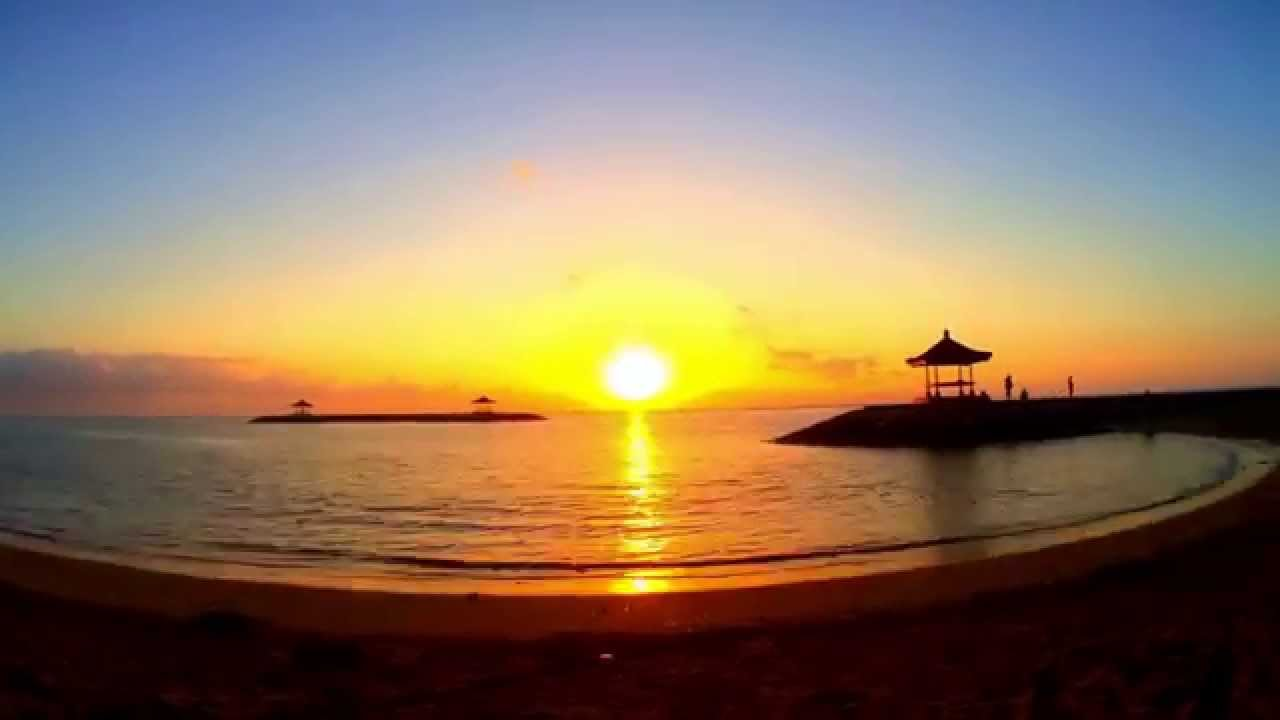 Sunrise Time Lapse - Sanur Beach, Bali, Indonesia. Only use my ... | title | sunrise time
