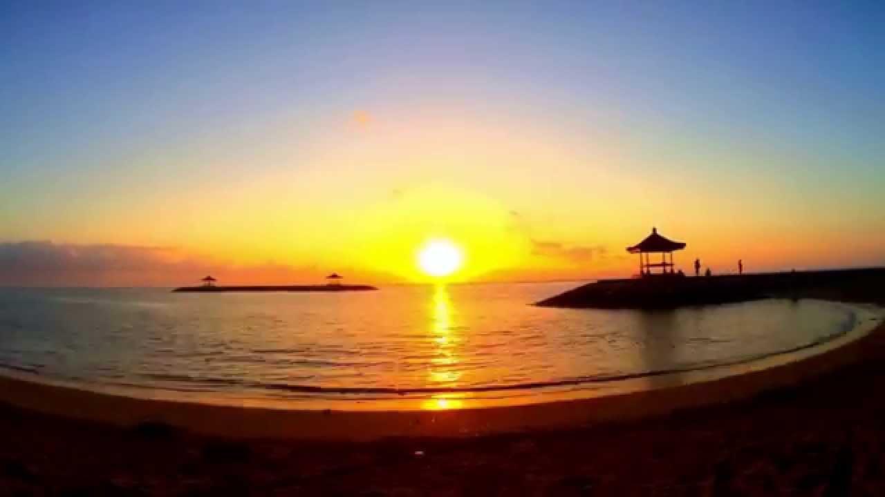Sunrise Time Lapse - Sanur Beach, Bali, Indonesia. Only use my ... | title | sunrise time