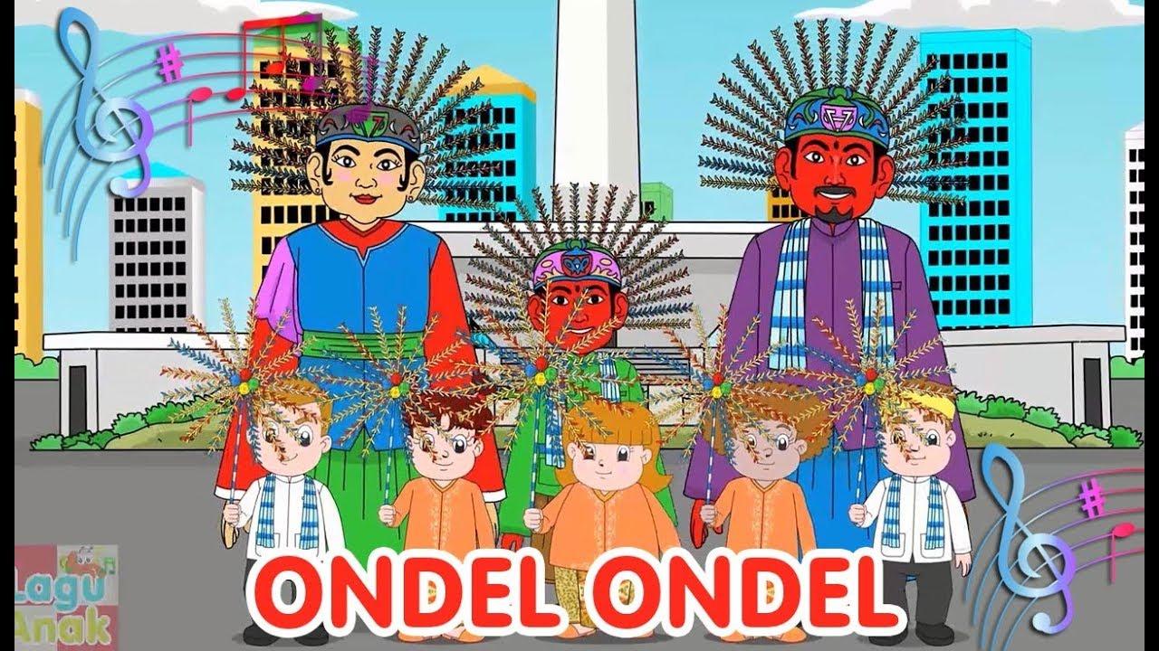 Ondel Ondel Lagu Daerah Betawi Diva Bernyanyi Lagu Daerah