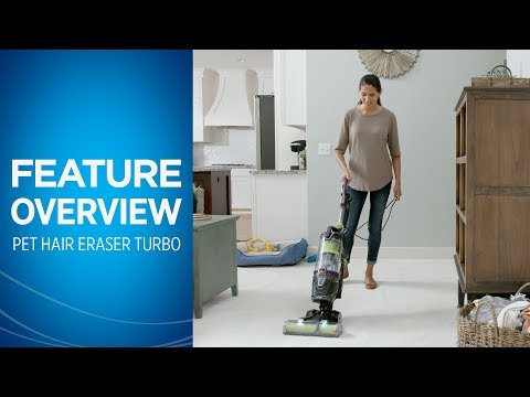 Pet Hair Eraser® Turbo Plus Vacuum Cleaner Overview | BISSELL