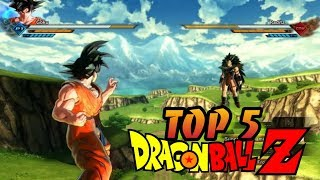 Top 5 Dragon Ball Z Games Download On Android | Graphics Like Xenoverse || | Offline