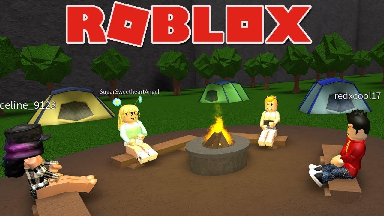 Camping Roblox Welcome To Bloxburg Beta Youtube