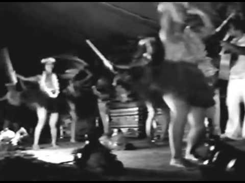 Bella Richards at the 25th Lanikai Luau, 1976