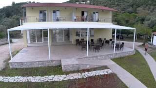 Aerial Video MENES Hotel and Camping Santa Mavra