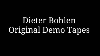 Dieter Bohlen - Demo Tapes - Modern Talking - Brother Louie, You can win if you want, Jet Airliner..