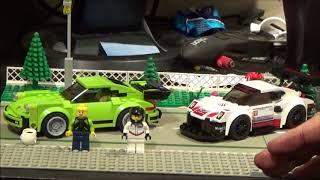 Lego Speed champions Set Review: 75888 Porsche 911 RSR and Portsche 911 Turbo 3.0