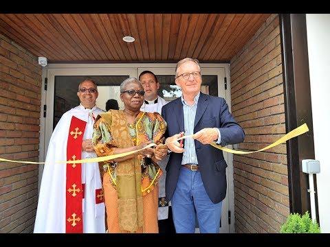inauguration du Chalet réhabilité aux Pavillons-sous-Bois