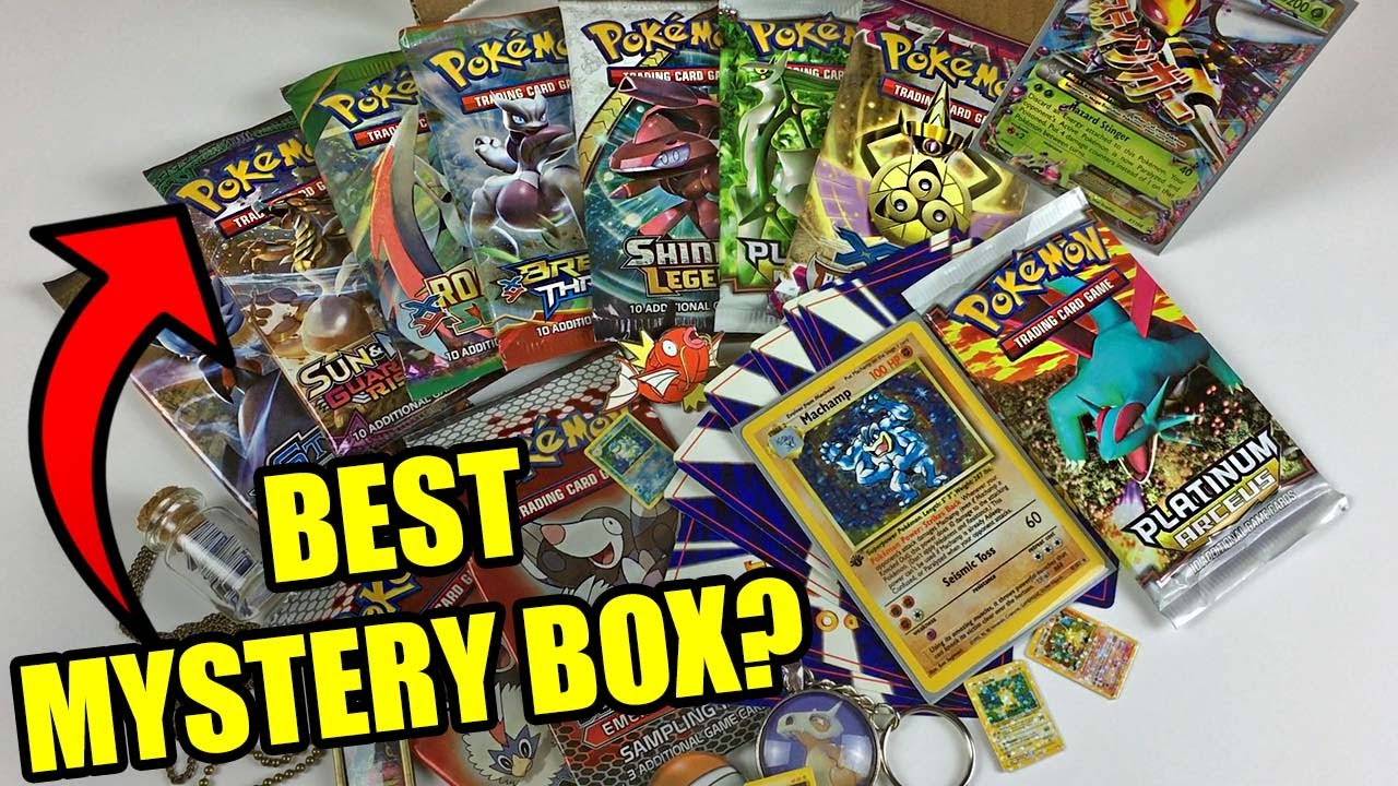 Pokemon Mystery Power Box - Walmart.com |Pokemon Mystery Box