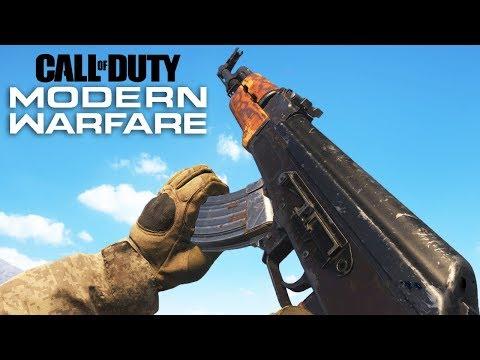 Call Of Duty Modern Warfare ALL Weapons Showcase