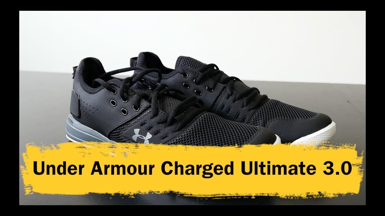 Under Armour Charged Ultimate 3.0 - YouTube