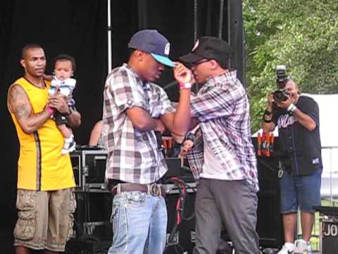 Cory Gunz - 6 Foot, 7 Foot @ Summer Stage 6-28-11