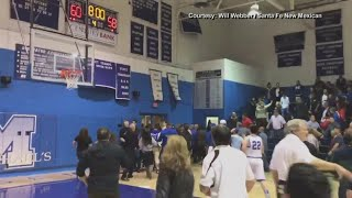 Santa Fe police investigate students, parents in high school basketball brawl