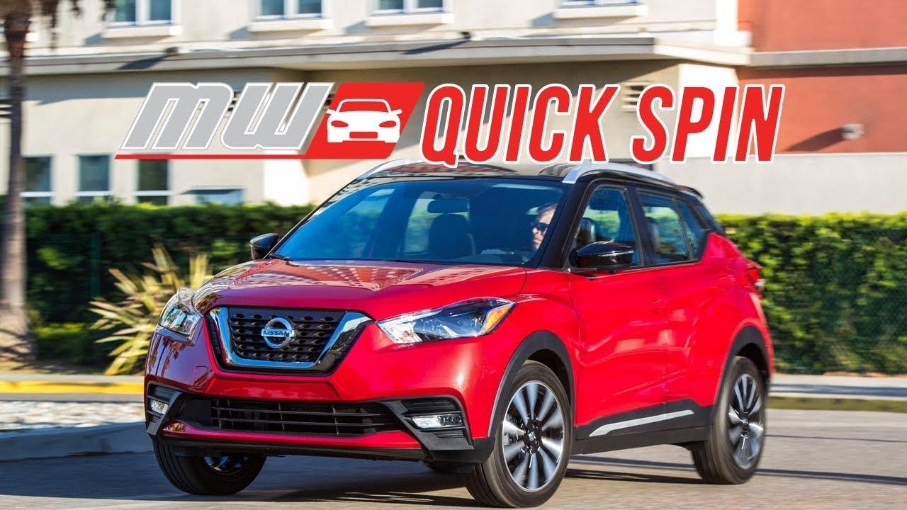 2018 Nissan Kicks Quick Spin Youtube