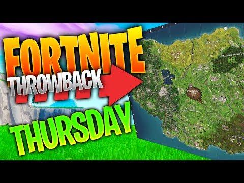 Fortnite Throwback Thursday! (Fortnite Battle Royale Season 4 Gameplay No Commentary)