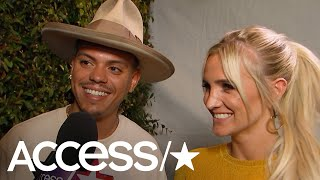 Evan Ross & Ashlee Simpson Talk New Duets Album & Upcoming Reality Show | Access