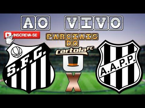 SANTOS 0x0 PONTE PRETA - NARRAÇÃO + PARCIAIS DO CARTOLA FC!