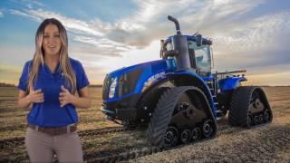 New Holland T9 Tractors: SmartTrax™ II Track System
