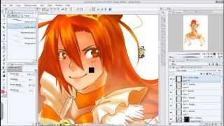 Speed Paint]Smile Precure Princess Sunny!