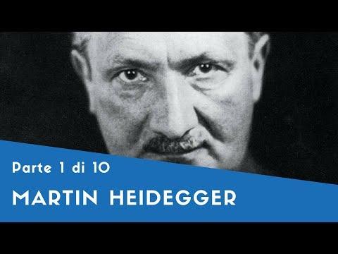 """Martin Heidegger - Parte I (la formazione, """"Essere e tempo"""" [1])"""