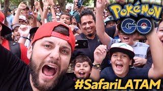 #SafariLATAM Pokémon GO em São Paulo