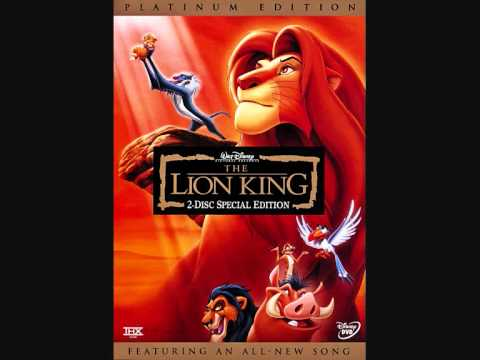 """End Credits Music from the movie """"The Lion King"""""""