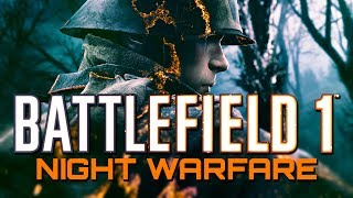 Battlefield 1: Aggressive Support at Night with Controller Cam (PS4 PRO Gameplay)