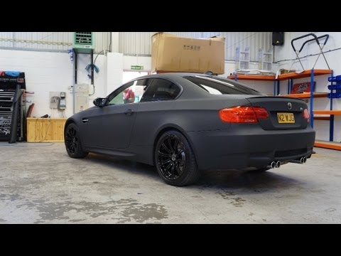 Bmw M3 Wrapped By Pw Pro Using Hexis Vinyl Youtube