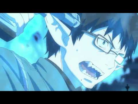 Blue exorcist touching moment Rin and yukio