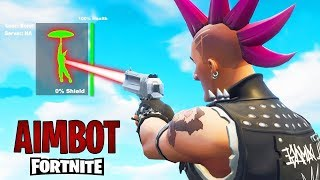 How to have AIMBOT in FORTNITE PS4 *NEW* trick and configuration in Fortnite, How to have more aim