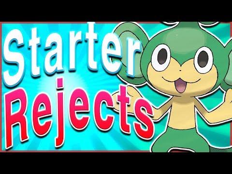 5 Potentially Rejected Starter Pokémon