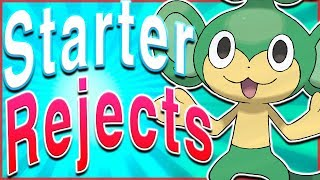 5 Potentially Rejected Starter Pokémon