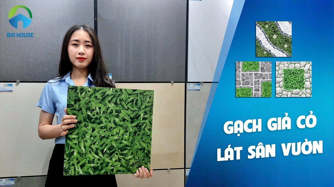 TOP mẫu gạch giả cỏ lát sân vườn ĐẸP NHẤT – MỚI NHẤT 2020