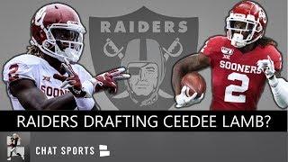 Raiders Drafting CeeDee Lamb? Raiders News: Mel Kiper Jr. NFL Mock Draft, Carr Sick Of Brady Rumors