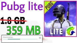 How to install Pubg mobile lite gaming app screenshot 1