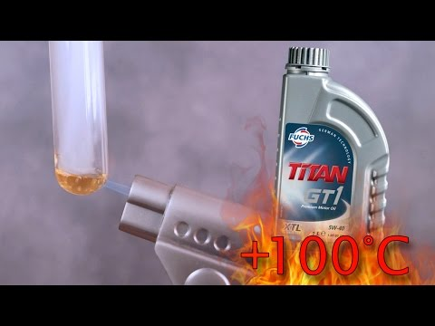 Fuchs Titan GT1 5W40 XTL How clean is engine oil? Test above 100°C