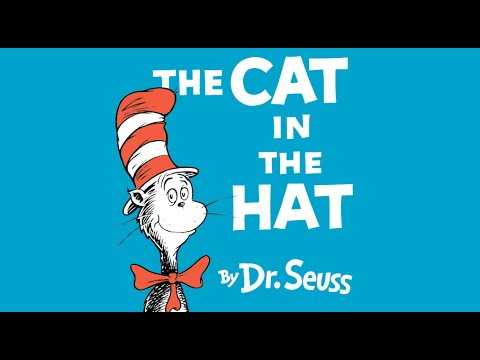 THE CAT IN THE HAT Read Along Aloud Story Book for Children Kids