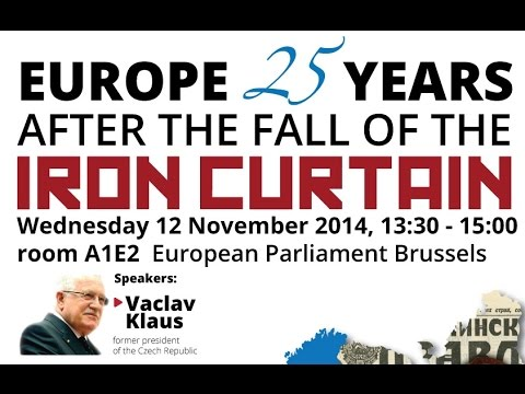 Europe 25 years after the fall of the iron curtain