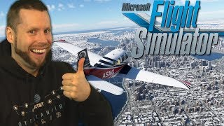 Learning how to Fly - Microsoft Flight Simulator
