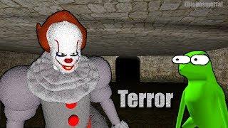 - TERROR BAJO TIERRA IT Pennywise Acecha GMOD Sanbox Terror Random Con Amigos Funny Moments