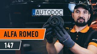 Replacing Anti roll bar bush kit on ALFA ROMEO 147: workshop manual