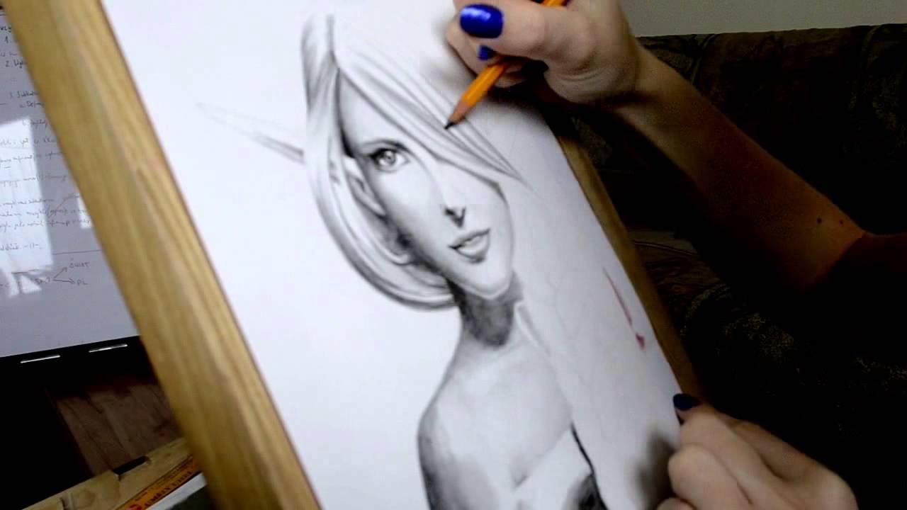 Drawing faces pencil drawing video 2015 tong6666
