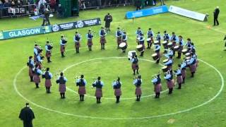 World Pipe Band Championships 2013 Medley - Dowco Triumph Street Pipe Band