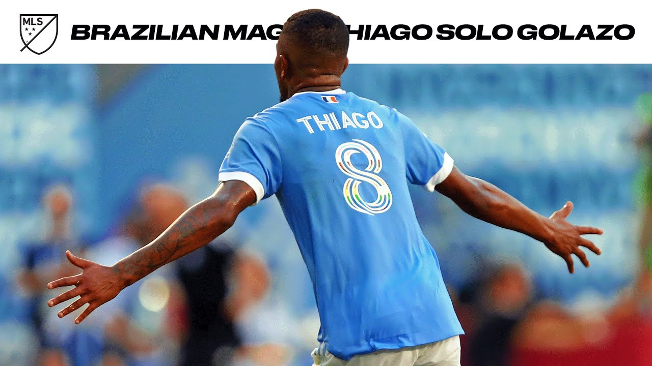 MUST WATCH: Incredible Solo Goal Scored by NYCFC's Thiago Andrade