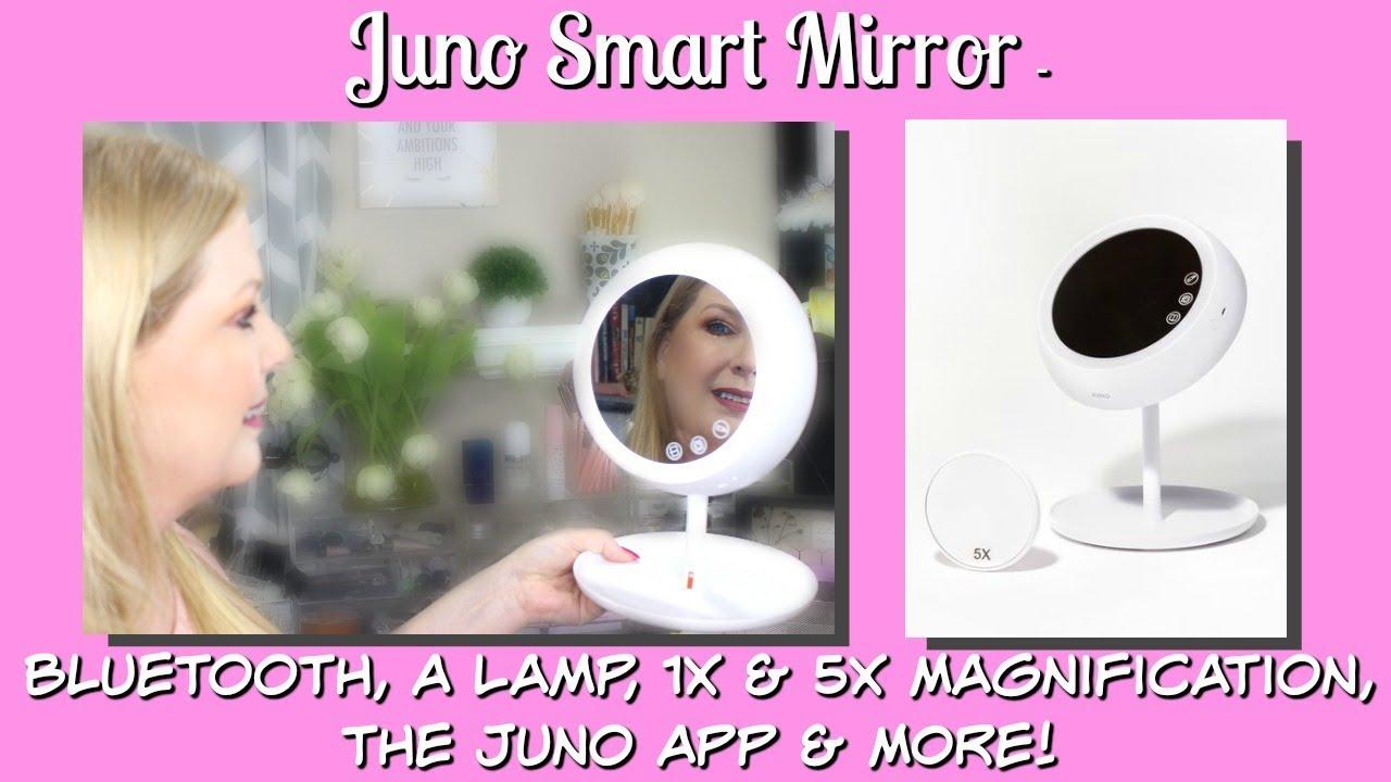 Juno Mirror - Bluetooth, A Lamp, 1x & 5x, Juno App & MORE!
