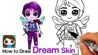 How to Draw Dream Skin | Fortnite